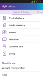 Samsung I9300 Galaxy S III - Applications - MyProximus - Step 24