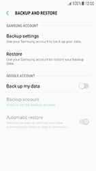 Samsung J330F Galaxy J3 (2017) - Device maintenance - Create a backup of your data - Step 6