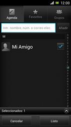 Sony Xperia J - Mensajería - Escribir y enviar un mensaje multimedia - Paso 8