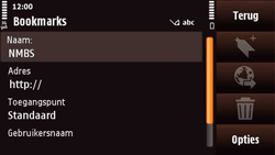 Nokia N97 Mini - Internet - Internetten - Stap 10