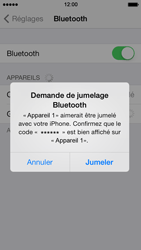 Apple iPhone 5c - Bluetooth - connexion Bluetooth - Étape 8