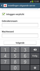Samsung G386F Galaxy Core LTE - E-mail - Account instellen (IMAP met SMTP-verificatie) - Stap 14