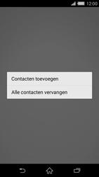 Sony Xperia Z2 4G (D6503) - Contacten en data - Contacten kopiëren van toestel naar SIM - Stap 9