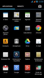 Wiko Rainbow - E-mail - Configuration manuelle - Étape 3