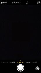 Apple iPhone 6 iOS 8 - Photos, vidéos, musique - Prendre une photo - Étape 3