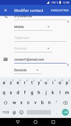 Crosscall Core X3 - Contact, Appels, SMS/MMS - Ajouter un contact - Étape 11