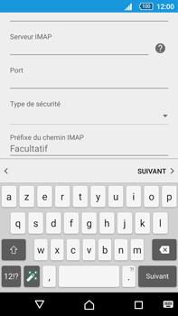 Sony Xperia Z5 Premium (E6853) - E-mail - Configuration manuelle - Étape 13