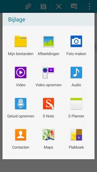 Samsung N910F Galaxy Note 4 - E-mail - hoe te versturen - Stap 11