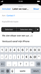 Apple iPhone SE - iOS 11 - E-mail - hoe te versturen - Stap 9