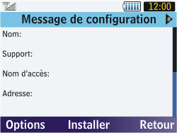 Samsung S3570 Chat 357 - Internet - Configuration automatique - Étape 5