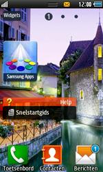 Samsung S7230E Wave TouchWiz - Internet - automatisch instellen - Stap 3