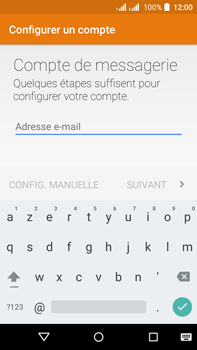 Acer Liquid Z630 - E-mail - Configuration manuelle (outlook) - Étape 5