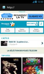 Bouygues Telecom Bs 402 - Internet et connexion - Naviguer sur internet - Étape 4