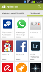 Samsung Galaxy Fresh Duos - Aplicações - Como pesquisar e instalar aplicações -  13