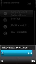 Nokia X6-00 - Wifi - handmatig instellen - Stap 8