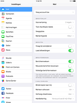 Apple iPad Mini 3 iOS 10 - E-mail - Handmatig instellen (outlook) - Stap 4