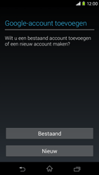 Sony D2303 Xperia M2 - Applicaties - Account aanmaken - Stap 4