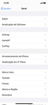 Apple iPhone X - iOS 13 - Funções básicas - Como atualizar o software do seu aparelho - Etapa 4