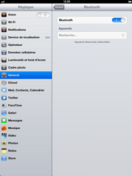 Apple iPad 4th generation - Bluetooth - connexion Bluetooth - Étape 8