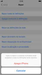 Apple iPhone 6s - iOS 11 - Repor definições - Como repor definições de fábrica do telemóvel -  7