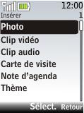 Nokia 2720 fold - E-mail - Envoi d