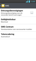 LG P710 Optimus L7 II - SMS - Handmatig instellen - Stap 9