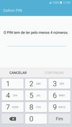 Samsung Galaxy S7 - Segurança - Como ativar o código de bloqueio do ecrã -  7