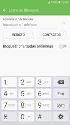 Samsung Galaxy S7 - Chamadas - Bloquear chamadas de um número -  8
