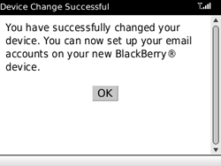 BlackBerry 8520 Curve - E-mail - Configuration manuelle - Étape 8