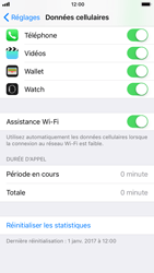 Apple iPhone 6 - iOS 11 - Internet - Désactiver Assistance WiFi - Étape 5
