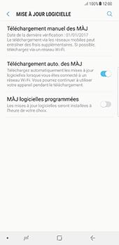 Samsung Galaxy Note 8 - Aller plus loin - Mettre à jour le logiciel interne de votre mobile - Étape 6