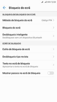 Huawei Mate 10 - Segurança - Como ativar o código de bloqueio do ecrã -  12