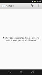 Sony Xperia Z - Mensajería - Escribir y enviar un mensaje multimedia - Paso 4