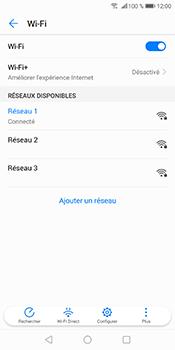 Huawei P Smart - Wi-Fi - Se connecter à un réseau Wi-Fi - Étape 9