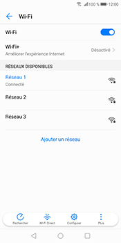 Huawei P Smart - Wifi - configuration manuelle - Étape 8