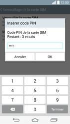 LG D855 G3 - Sécuriser votre mobile - Personnaliser le code PIN de votre carte SIM - Étape 9