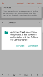 Samsung Galaxy S7 Edge (G935) - E-mail - envoyer un e-mail - Étape 11