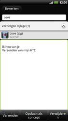 HTC X515m EVO 3D - E-mail - E-mails verzenden - Stap 11