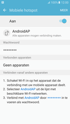 Samsung Galaxy S6 - Android M - WiFi - Mobiele hotspot instellen - Stap 11