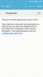 Samsung Galaxy S7 - Wi-Fi - Como configurar uma rede wi fi - Etapa 5