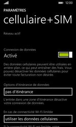 Nokia Lumia 530 - Aller plus loin - Désactiver les données à l'étranger - Étape 7