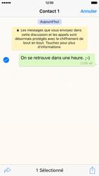 Apple iPhone 6 iOS 9 - WhatsApp - Partager des photos et votre emplacement avec WhatsApp - Étape 11