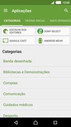 Sony Xperia M4 Aqua - Aplicações - Como pesquisar e instalar aplicações -  6