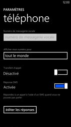Nokia Lumia 1320 - Messagerie vocale - Configuration manuelle - Étape 6