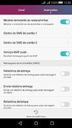 Huawei Y5 II - SMS - Como configurar o centro de mensagens -  6