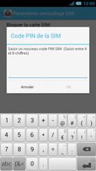 Bouygues Telecom Bs 471 - Sécuriser votre mobile - Personnaliser le code PIN de votre carte SIM - Étape 9