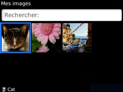 BlackBerry curve 3G - Photos, vidéos, musique - Envoyer une photo via Bluetooth - Étape 6