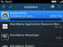 BlackBerry 9720 Bold - Applications - Télécharger des applications - Étape 17