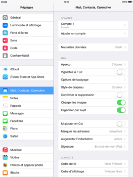 Apple iPad 2 iOS 8 - E-mail - Configuration manuelle - Étape 14