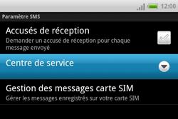 HTC A810e ChaCha - SMS - Configuration manuelle - Étape 6